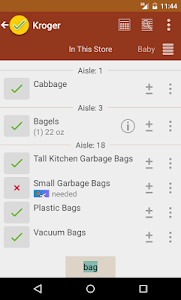 Grocery List - rShopping screenshot 0