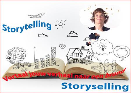 Digitale cursus storytelling -  in 7 weken van werk naar merk.