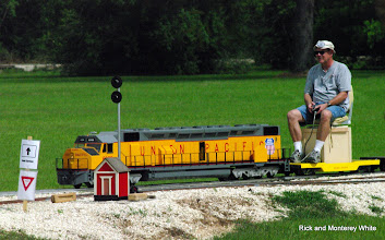 Photo: Carroll Enders with is DD-40 in electric drive.  HALS - SWLS 2009-0523
