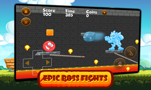 Super Red Ball: Red Ball in the Jungle Adventures 1.01.0 screenshots 5