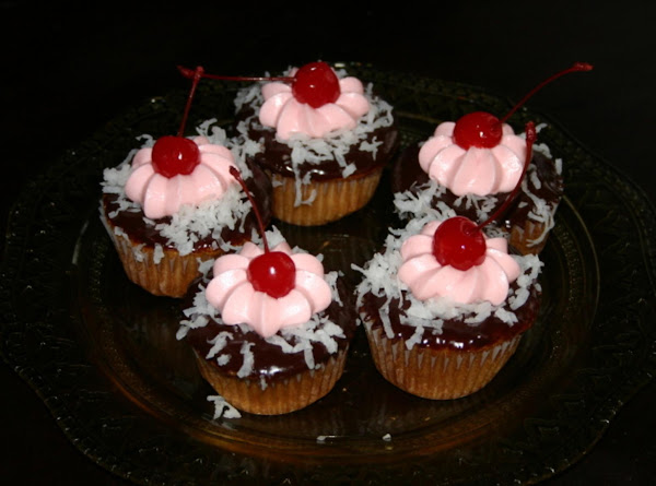 Chocolate Covered Cherry Cupcake Recipe