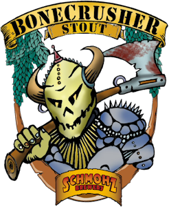 Logo of Schmohz Bonecrusher Stout