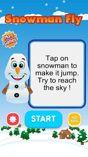 Snowman Fly