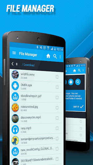 3 Download Manager for Android App screenshot