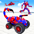 Scorpion Robot Monster Truck Transform Robot Games