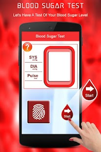 Blood Sugar Test Checker Simulator - náhled