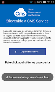 Cms - Cloud Management and Systems - náhled