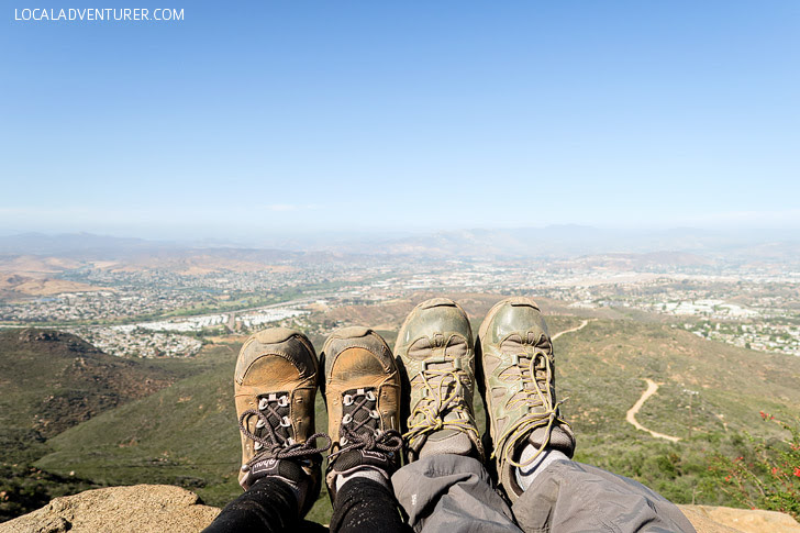 Cowles Mountain Hike (Hiking in San Diego).
