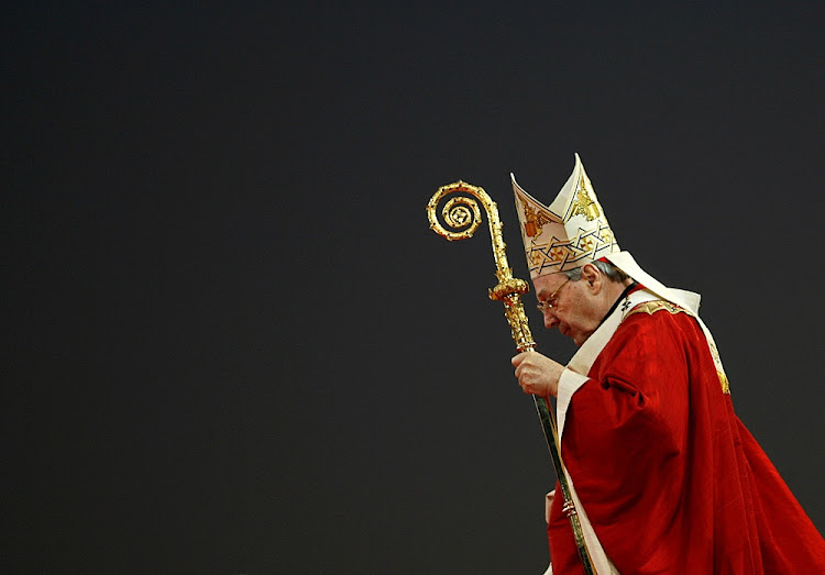 Australia Cardinal George Pell. File photo.