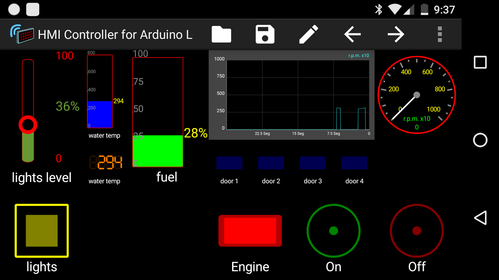 Hmi controller for arduino l android apps on google play