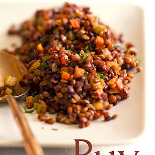 Caramelized Lentils Du Puy Recipe