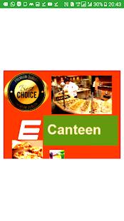 E-canteen - náhled