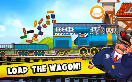 Fun Kids Train Racing Games  screenshots 13