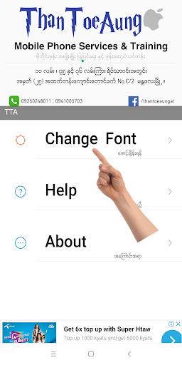 TTA Mi Myanmar Font Lite 3319 screenshots 1
