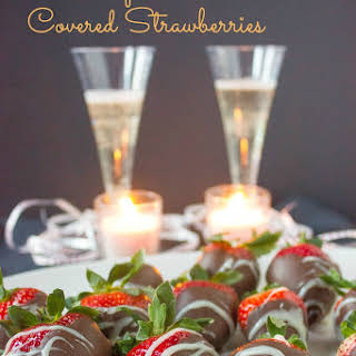 Vodka Infused Chocolate Covered Strawberries.