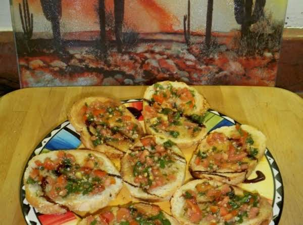 Bruschetta-- Recipe