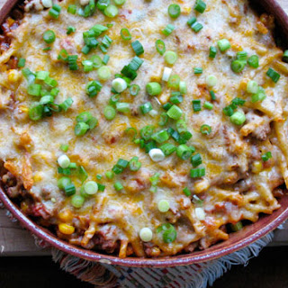Southwest Ground Beef Casserole.