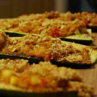 Stuffed Zucchini Boats.