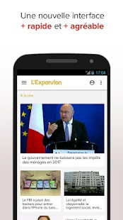 L'Expansion : actu economique- screenshot thumbnail