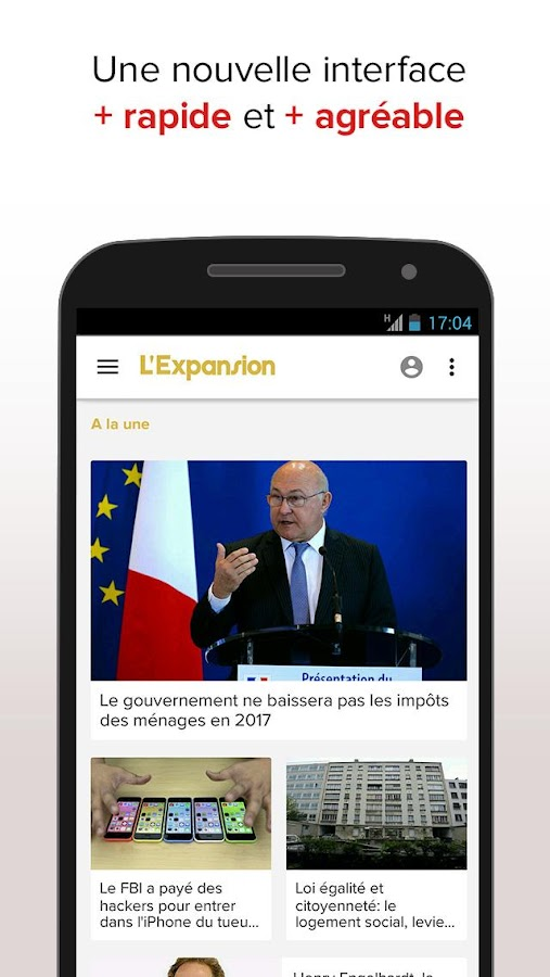 L'Expansion : actu economique- screenshot