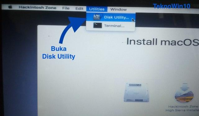 Buka Disk Utility