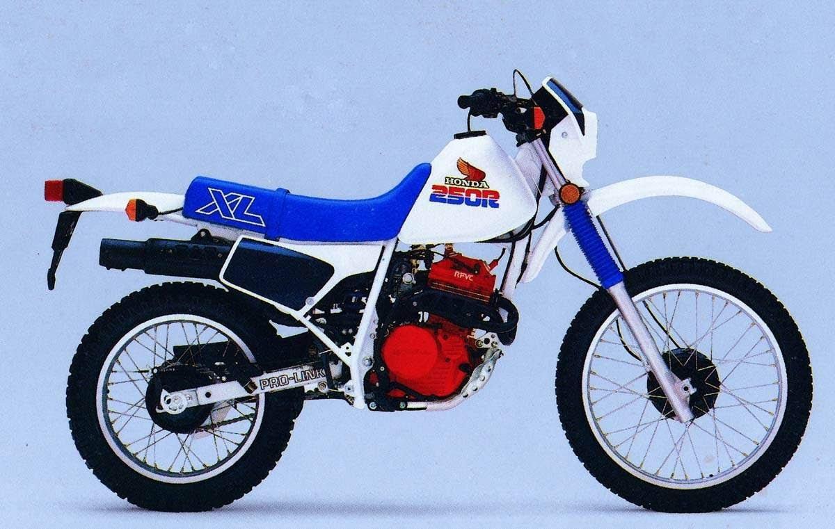 Honda XL 250-manual-taller-despiece-mecanica