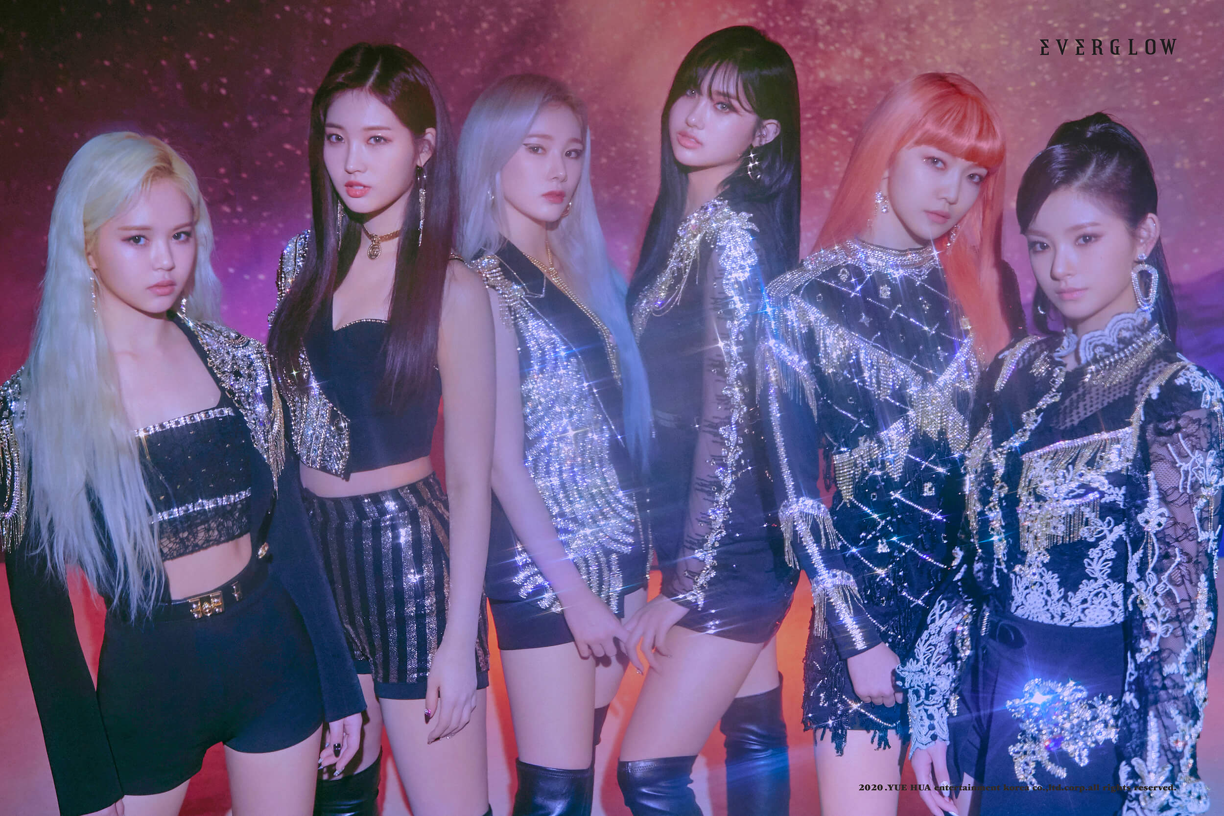 lightstick everglow Yuehua Entertainment