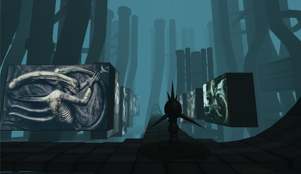 HR Giger VR Gallery Cardboard- screenshot