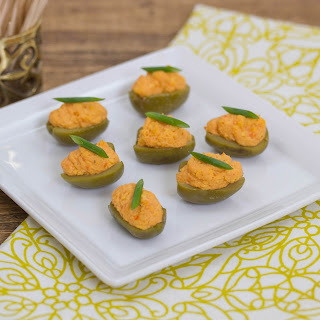 Cheddar Olive Cheese Appetizers
