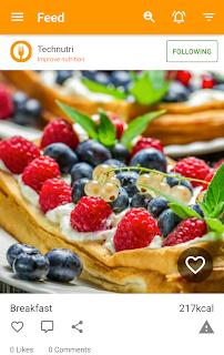 Diet and Fitness - Technutri screenshot 02