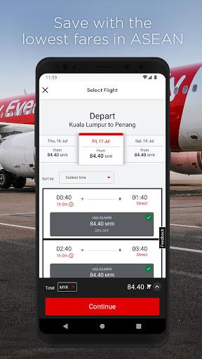 AirAsia screenshot 2