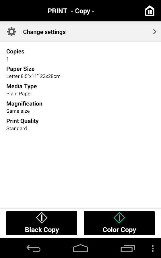 Canon PRINT Inkjet/SELPHY- screenshot