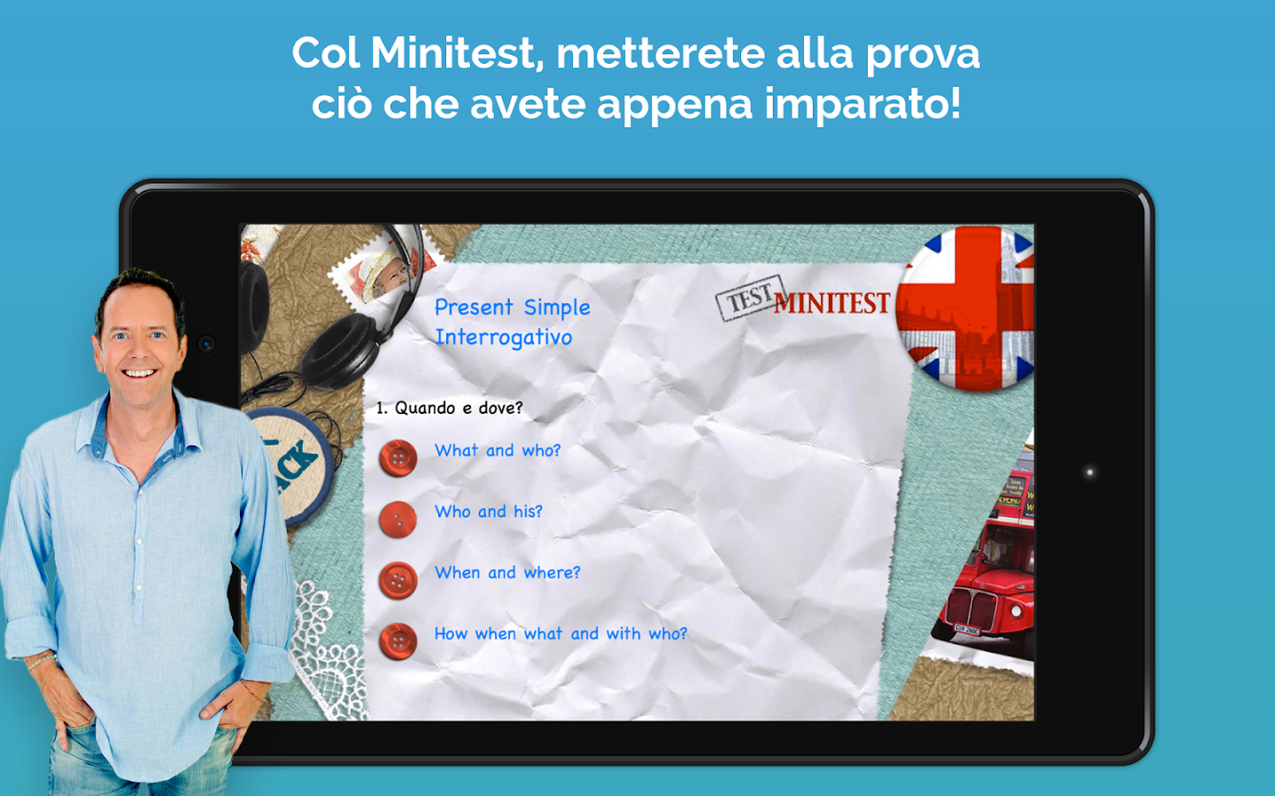 English Now Impara l'inglese con John Peter Sloan- screenshot