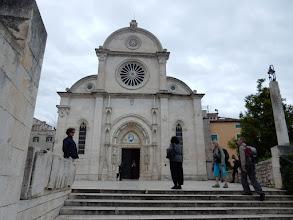 Photo: De Sint-Jacobuskathedraal (Jakova) van Šibenik