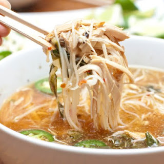 Crock Pot Chicken Pho