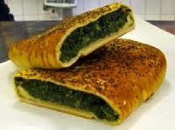 Whimpy Skimpy Spinach Pie Recipe