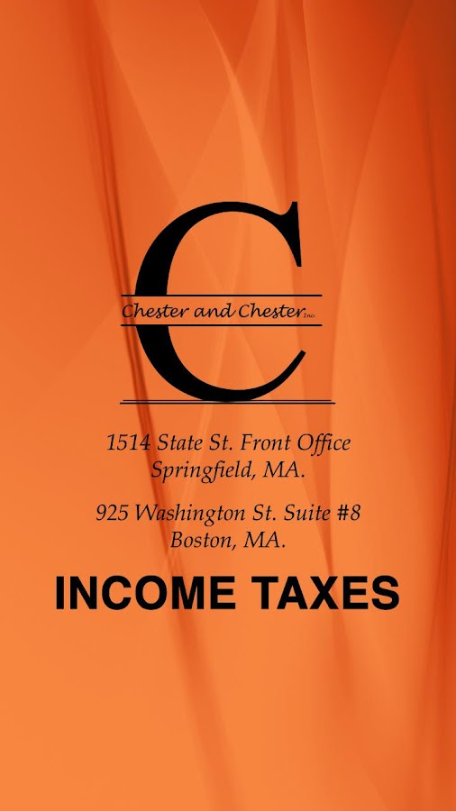 CHESTER & CHESTER TAX SERVICES- screenshot