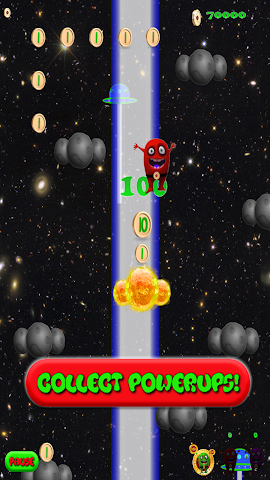 android Alien Jump Free Screenshot 2