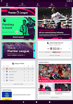 Premier League - Official App APK screenshot thumbnail 7
