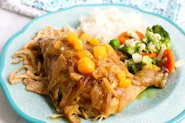 Crock Pot Mango Chicken