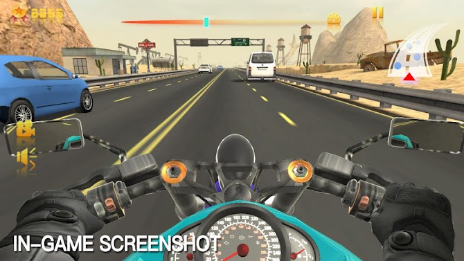 Moto Racing Rider Android 9