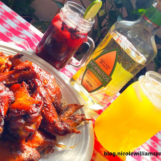 Hornitos® Tequila Jerk Wings.
