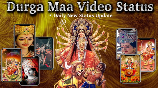 Maa Durga video status screenshot 1