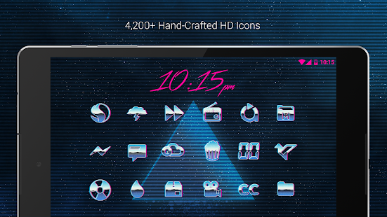 Rad Pack - 80's Theme (Pro Version) Screenshot
