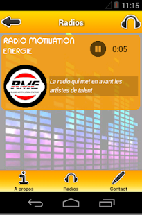 RADIO MOTIVATION ENERGIE- screenshot thumbnail