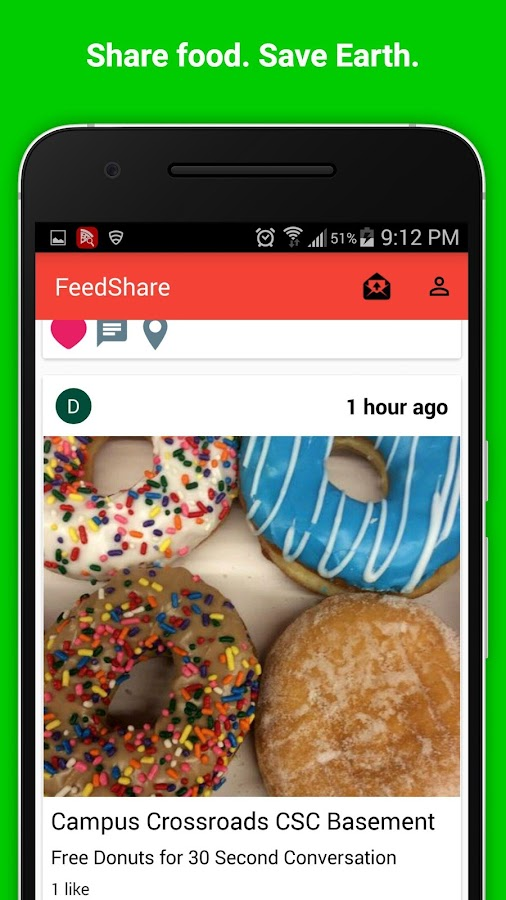 FEEDShare- screenshot