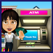 Bank ATM Cash Shopping Simulator: Super Mall Game