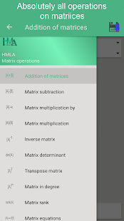 Matrix operations premium Screenshot
