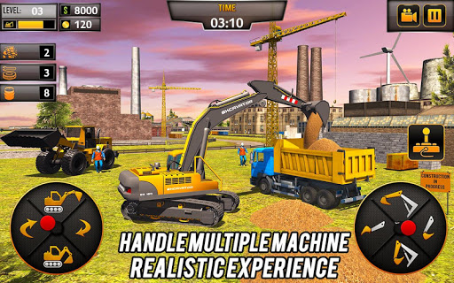 Heavy Construction Crane Driver: Excavator Games 1.0.5 screenshots 2