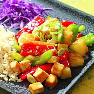 Pineapple Tofu Stir-Fry Recipe